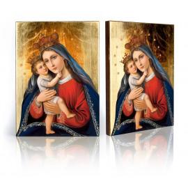Icon of Eleus (Mother of God with baby Jesus)