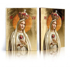 Icon of Mother of God of Fatima (3)