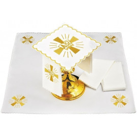 Alpha and Omega chalice linen - 5