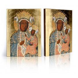 Icon of Our Lady of Częstochowa (in a diamond dress)