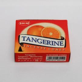 Incense cone - Mandarin (10 cones)