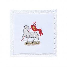 Chalice linen Sacrificial Lamb (13)