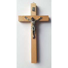 Wooden cross - light 16 x 8 cm