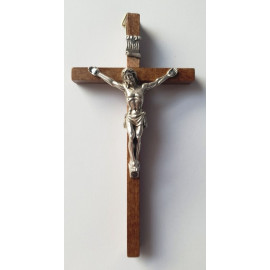 Wooden cross - dark 13 x 7 cm