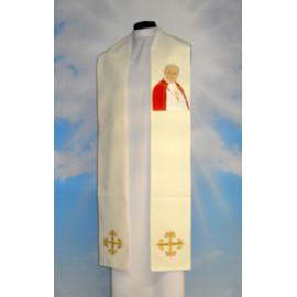 Stole with the image of Saint John Paul II
