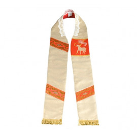 Easter priest's stole with a lamb (2)