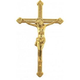 BRASS CROSS WITH PASSION
