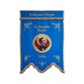 Embroidered banner - Saint Stanislaus Kostka - sample pattern