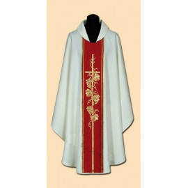 Embroidered chasuble (11A)