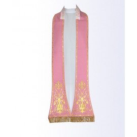 Pink stole