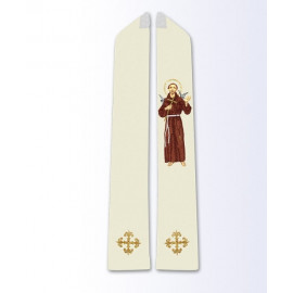 Stole with the image of St. Francis