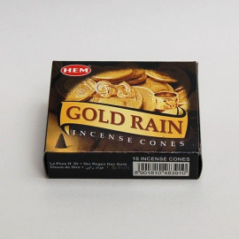 Incense cone - Gold Rain (10 cones)