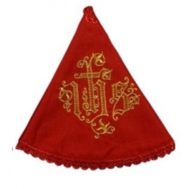 Embroidered ciborium veil (11)
