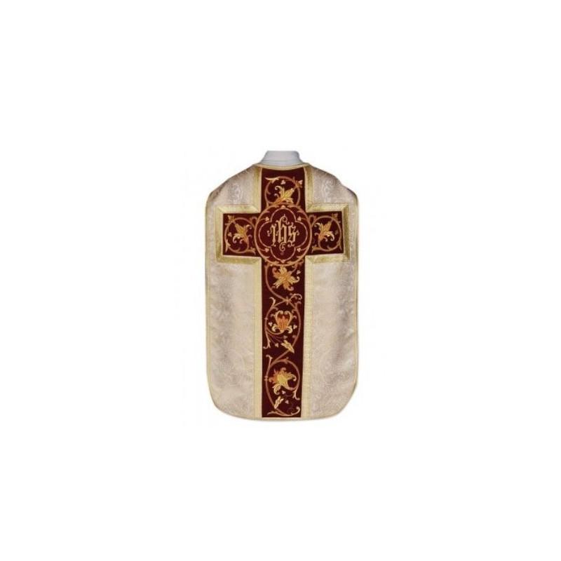Roman chasuble IHS - gold (28)