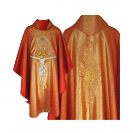 Gothic Chasuble - Crucifixion of Jesus (24)