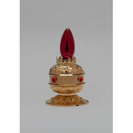 Eternal brass lamp, gold plated
