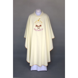 Christmas chasubles - Embroidered Christmas (8)