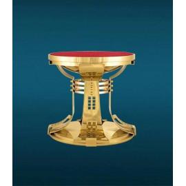 Monstrance throne, gilded - 22.5 cm