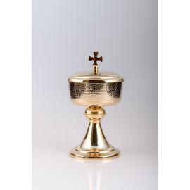 Ciborium, brass, gold plated - 23 cm (30)