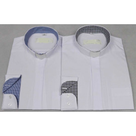 Clergy-white shirt, insets