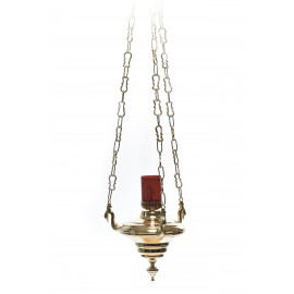 Sanctuary, hanging, electric or olive lamp - 40 cm