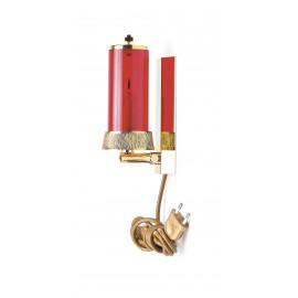 Hanging sanctuary lamp, electric - 21 cm