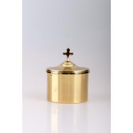 Ciborium, gold plated - h 7cm, Ø 9cm