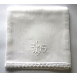 Corporal - embroidered white IHS - 100% cotton