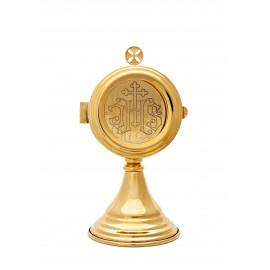 Custodia brass, gold-plated - 21 cm