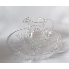 Lavabo Set + tray (crystal)