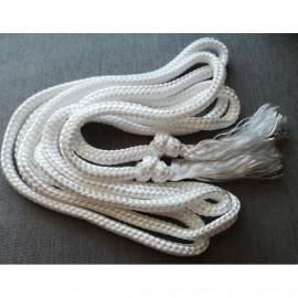Cincture white cotton
