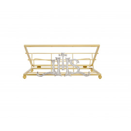 Missal Stand - gilded IHS (2)