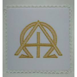 Chalice Pall - Alpha and Omega Embroidery (5)