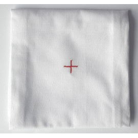 Corporal - embroidered red cross - 100% cotton