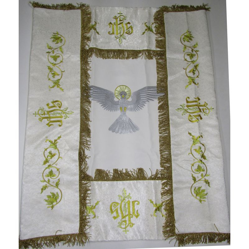 Processional embroidered canopy 120x150 cm (16)