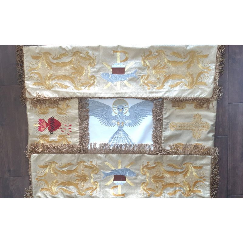 Processional embroidered canopy 120x150 cm (17)