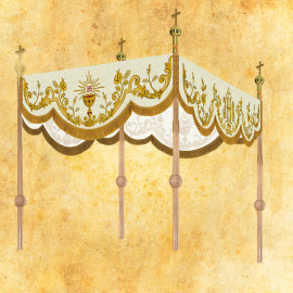 Processional embroidered canopy 120 x 160 cm (20)