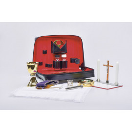 Travel set for the priest - celebrant's case (4)