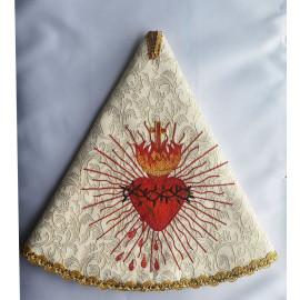 Embroidered veil for a ciborium (1)