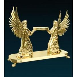 Monstrance throne (gilded) - 2 Kneeling Angels