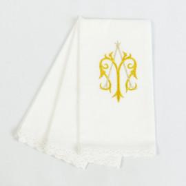 Purificator embroidered Marian motif (3 pcs.)