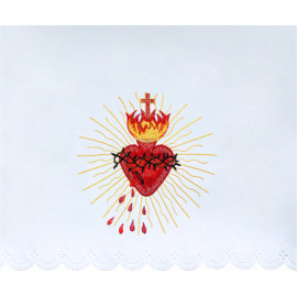 Altar Tablecloth Heart of Jesus (6)