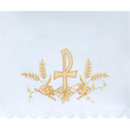 Altar Tablecloth P - golden embroidery (34)