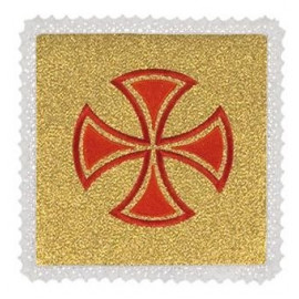 Palls gold - red cross