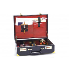 Travel set for priest - celebrant's suitcase (10)