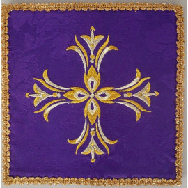 Chalice pall cross violet (4)