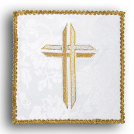 Chalice pall cross white (9)