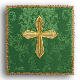 Chalice pall cross green (13)