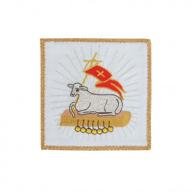Embroidered pall Lamb of God (5)