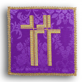 Chalice pall cross violet (23)